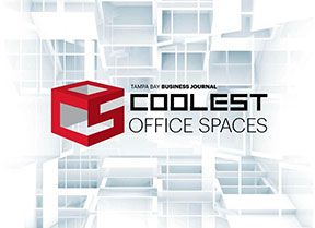 """myMatrixx is honored to be named the 2017 overall winner for """"Coolest Office Spaces"""" by the Tampa Bay Business Journal."""