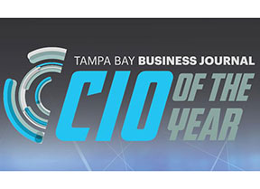 In 2016, our Chief Information Officer, Mike Geis, was selected by the Tampa Bay Business Journal as the winner for CIO of the Year, in the private medium category