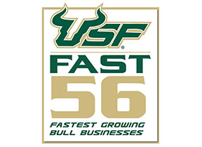 """myMatrixx has been named to the University of South Florida's """"USF Fast 56"""" list three times."""