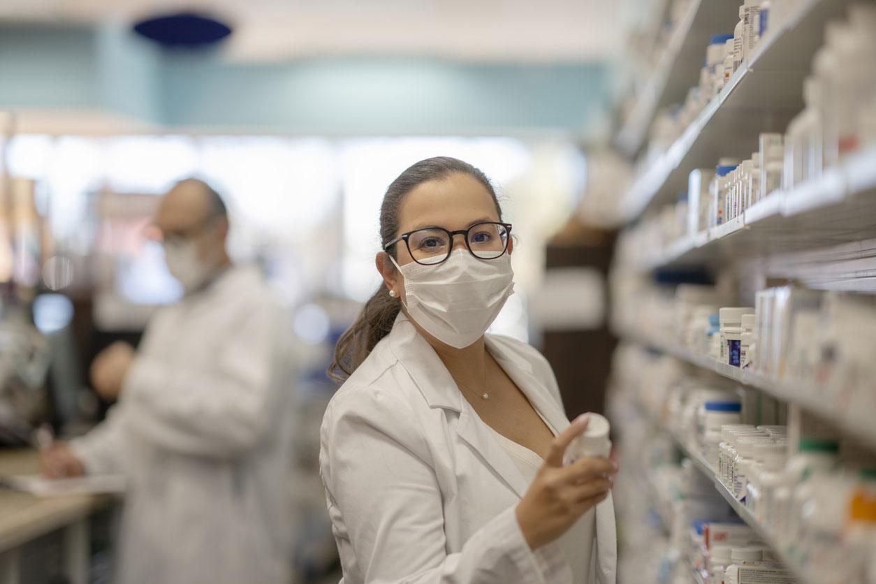 Masked Pharmacist
