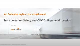 Transportation Safety and COVID-19 Panel Discussion - Part 1