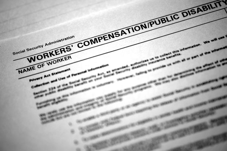 Workers Compensation Forms Injured on the Job