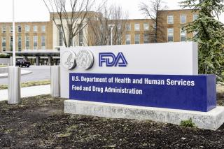 Washington, D.C., USA- January 13, 2020: FDA Sign at its headquarters in Washington DC. The Food and Drug Administration (FDA or USFDA) is a federal agency of the USA.
